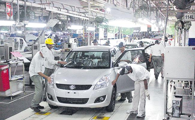 Maruti Suzuki Cuts Production For Ninth Month In A Row - Sakshi