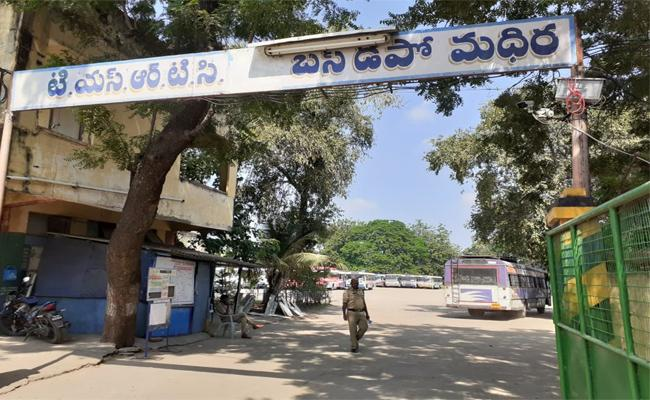 Case Filed On Private RTC Driver - Sakshi