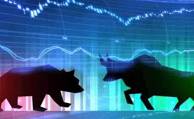 Sensex Falls Over 150 Points Nifty Near 11,850 - Sakshi