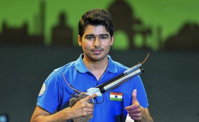Saurabh Chaudhary Wins Silver In Asian Shootings - Sakshi