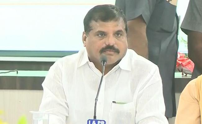 Botsa Satyanarayana Visits Anantapur District Over Review Meeting - Sakshi
