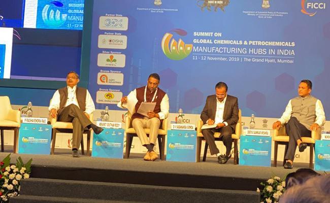 mekapati goutham reddy invites investments in Andhra Pradesh - Sakshi