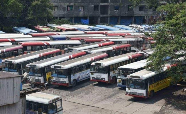 TSRTC Strike: Merger Is Disruptive For Negotiation Government Will Clear To High Court - Sakshi