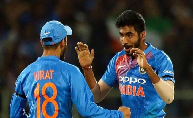 Virat Kohli And Jasprit Bumrah Maintain Top In ICC ODI Rankings - Sakshi