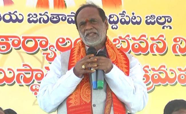 Telangana State BJP President Laxman Fires On CM KCR - Sakshi