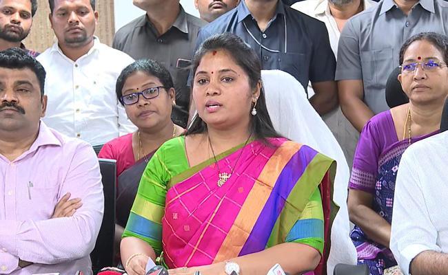 Deputy CM Pushpa Srivani Talks In Tribal Advisory Council Meeting In Vijayawada - Sakshi