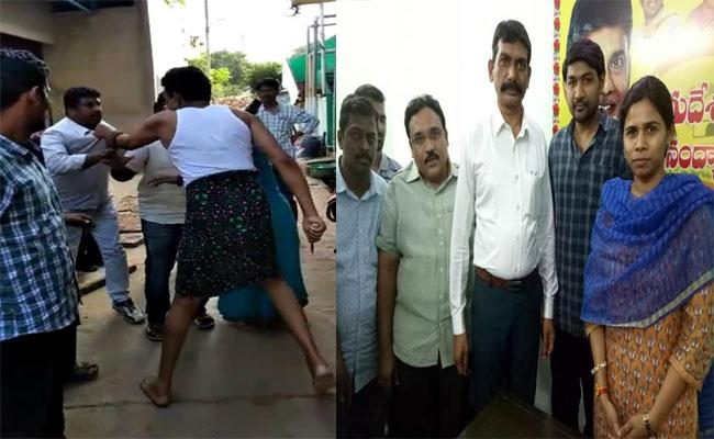 Person Attacked With Knife On Two people Because Of Asking Money In Kurnool - Sakshi