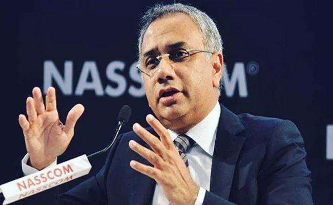 Another Whistleblower Guns At Infosys CEO Salil Parekh - Sakshi