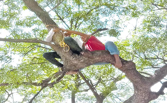 Suicide Attempt By A Farmer In The Collectorate Premises At Nizamabad - Sakshi