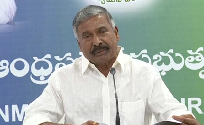 Peddireddy Ramachandra Reddy Slams Chandrababu Over Sand Issue - Sakshi