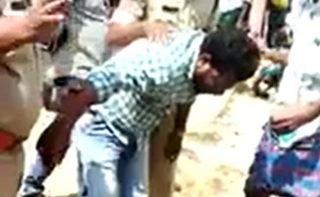 Gummagatta TDP Leader Jayarami Reddy Play Suicide Drama - Sakshi