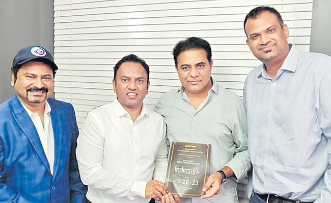 Representatives Of India Joy Met with KTR On November 20 - Sakshi