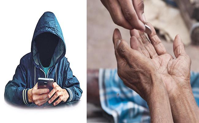 Cyber Criminals Using Beggars Sim Cards in Hyderabad - Sakshi