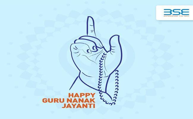 BSE  and  NSE shut today on account of Guru Nanak Jayanti - Sakshi