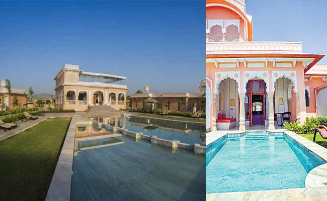 Maharashtra Congress MLAs Luxury At Buena Vista Resort in Jaipur - Sakshi