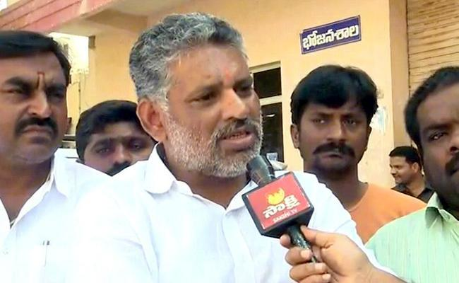 Chevireddy Bhaskar Reddy Speech In Tirupati - Sakshi