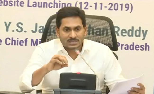 CM Ys Jagan Reviewed The Spandana Program - Sakshi