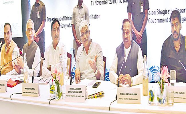 Union Minister Shekhawat Attended for Southern States Conference At Hyderabad - Sakshi