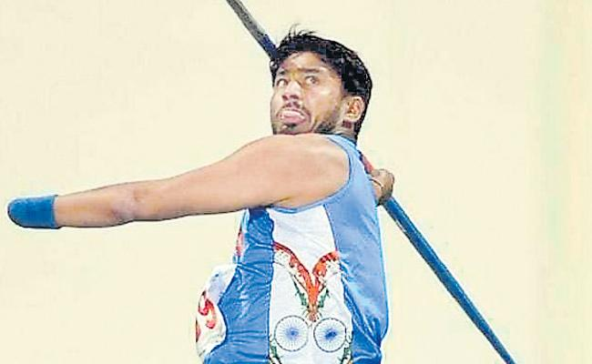 Javelin Retained The Title At World Para Championship - Sakshi