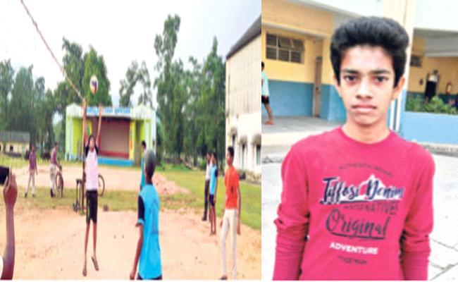 DAV School Student Select National volleyball - Sakshi