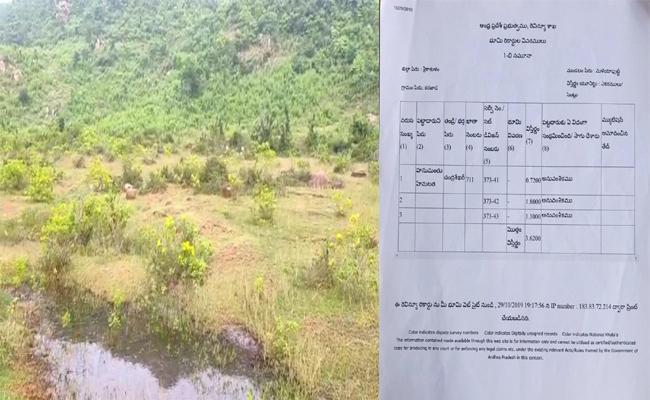 TDP Activist Illegal Works In Srikakulam - Sakshi
