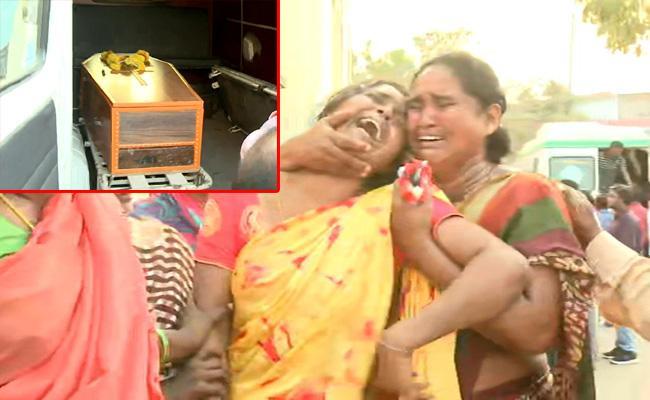 Postmortem Completed In Dwarak Murder Case Vijayawada - Sakshi