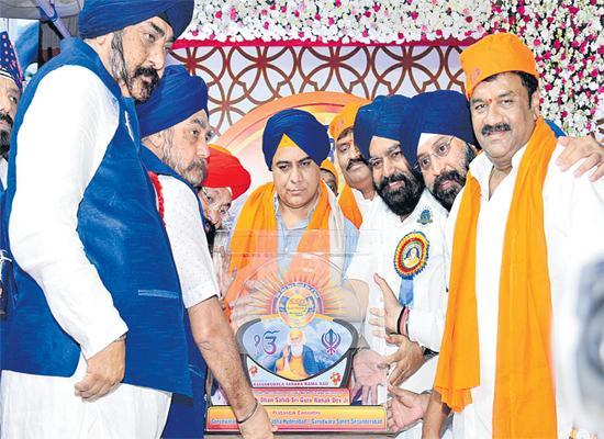 Minister KTR Participated in Gurunanak Jayanthi Celebrations In Afzalgunj Hyderabad - Sakshi