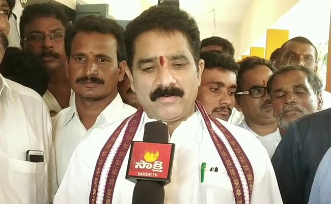 Karanam Dharma Sri Launched Sand Depot In Chodavaram - Sakshi