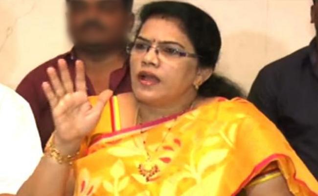 District President Killi Kruparani Fires On Chandrababu Naidu - Sakshi