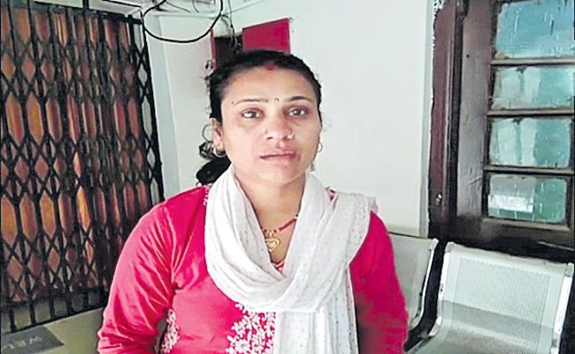 Students attack on teacher - Sakshi