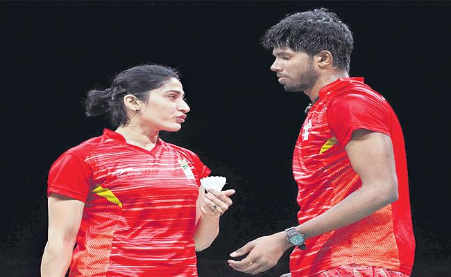 Satwik-Ashwini Couple At Pre-quarters In Hong Kong Open World Tour - Sakshi