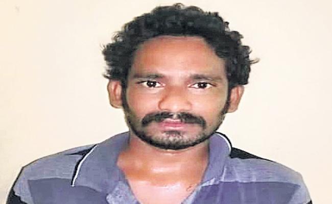 Father Hits Children Brutally In West Godavari District Narasapuram - Sakshi