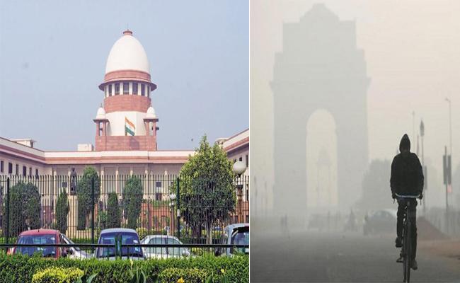 Supreme Court Serious On Delhi Air Pollution - Sakshi