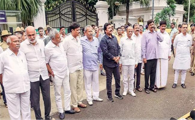 All Disqualified MLAs To Join BJP - Sakshi