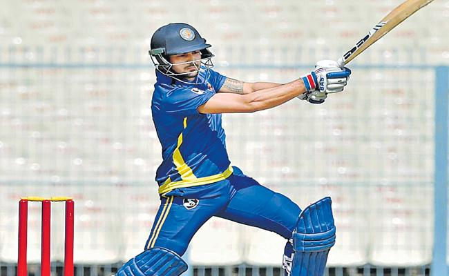 Manish pandey Made A Century In Syed Mushtaq Ali Trophy - Sakshi