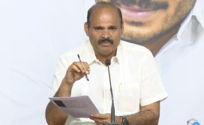 YSRCP MLA Kolusu Parthasarathy Challenge to Chandrababu over Sand Issue - Sakshi
