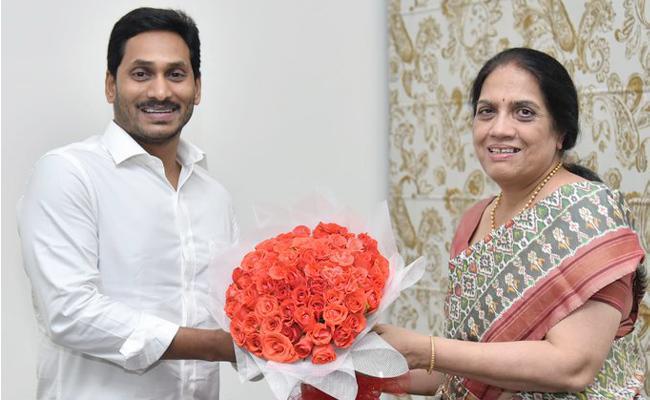 Neelam Sahani Take Charge As Andhra Pradesh Chief Secretary - Sakshi