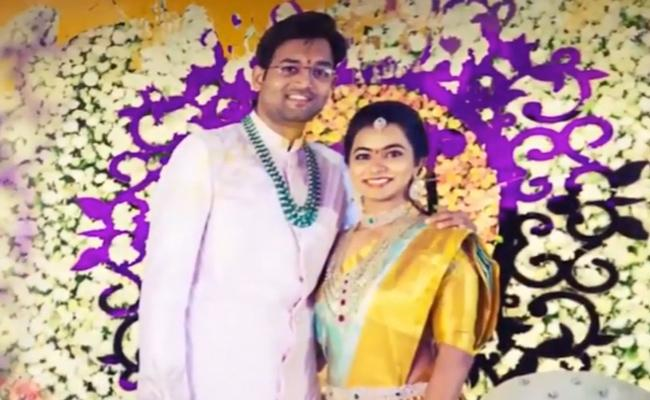 Etela Rajender Daughter Neeta Wedding Celebrations - Sakshi