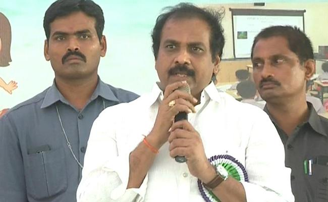 Minister Kurasala Kannababu Comments On Chandrababu - Sakshi
