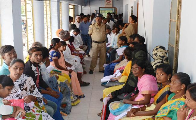 Security Increased At MRO Offices In Telangana - Sakshi