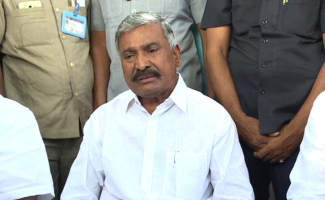 Peddireddy Ramachandra Reddy Slams Chandrababu Over His Allegations On Govt - Sakshi