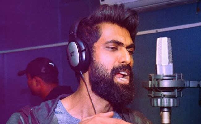 Telugu version of Action  Movie rap song released sung by actor Rana daggubati - Sakshi