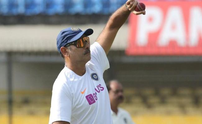Ravi Shastri Trolled Again After Posts His Bowling Pictures - Sakshi