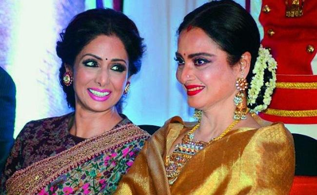 ANRao National Awards will be presented to Great artistes Sridevi And Rekha  - Sakshi