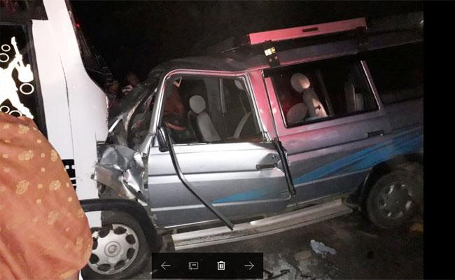 Road Accident In Puthalapattu - Sakshi