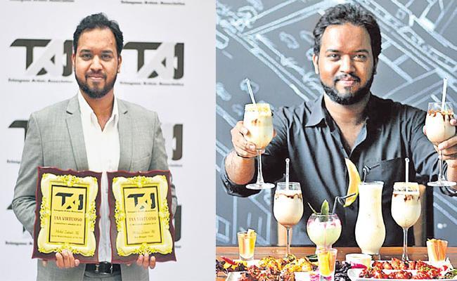 Hyderabad Best Food Blogger Juber Ali Special Story - Sakshi
