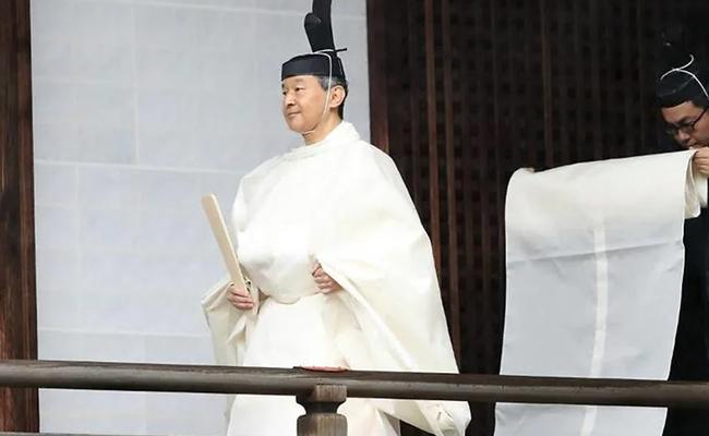 A Strange Custom in the Coronation of the Emperor of Japan - Sakshi