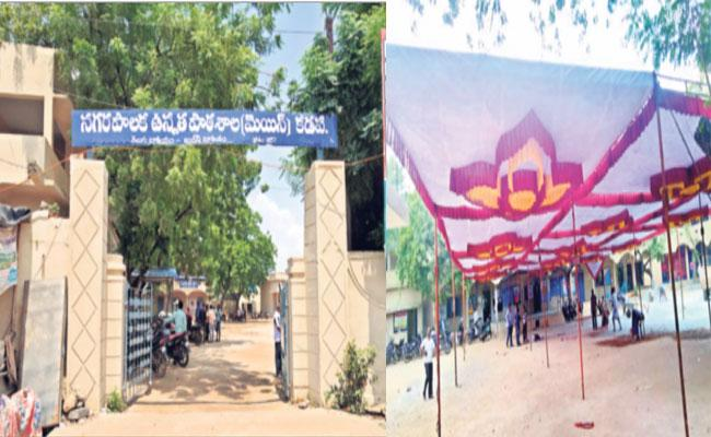 Amjad Basha Starts Mana Badi Nadu Nedu Program In YSR Kadapa - Sakshi