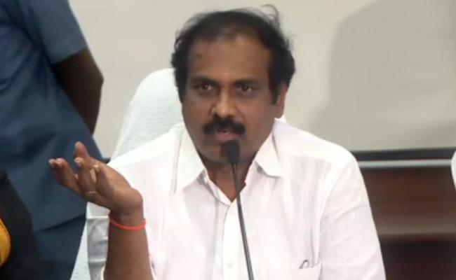 Minister Kurasala Kannababu Comments On Chandrababu Naidu - Sakshi