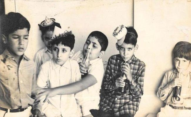 Rishi Kapoor Shares Childhood Photos In Twitter - Sakshi